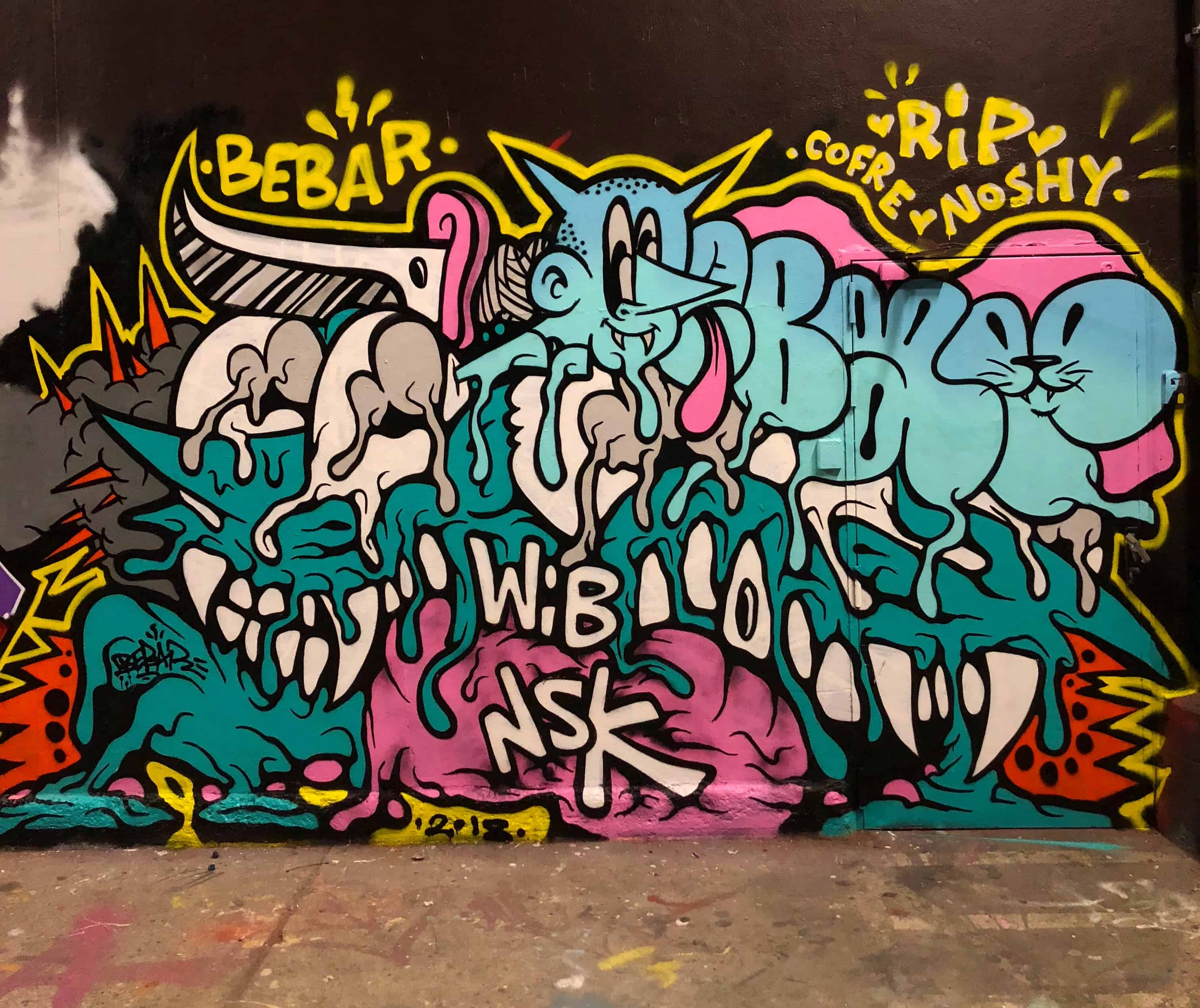 BEBAR GRAFFITI