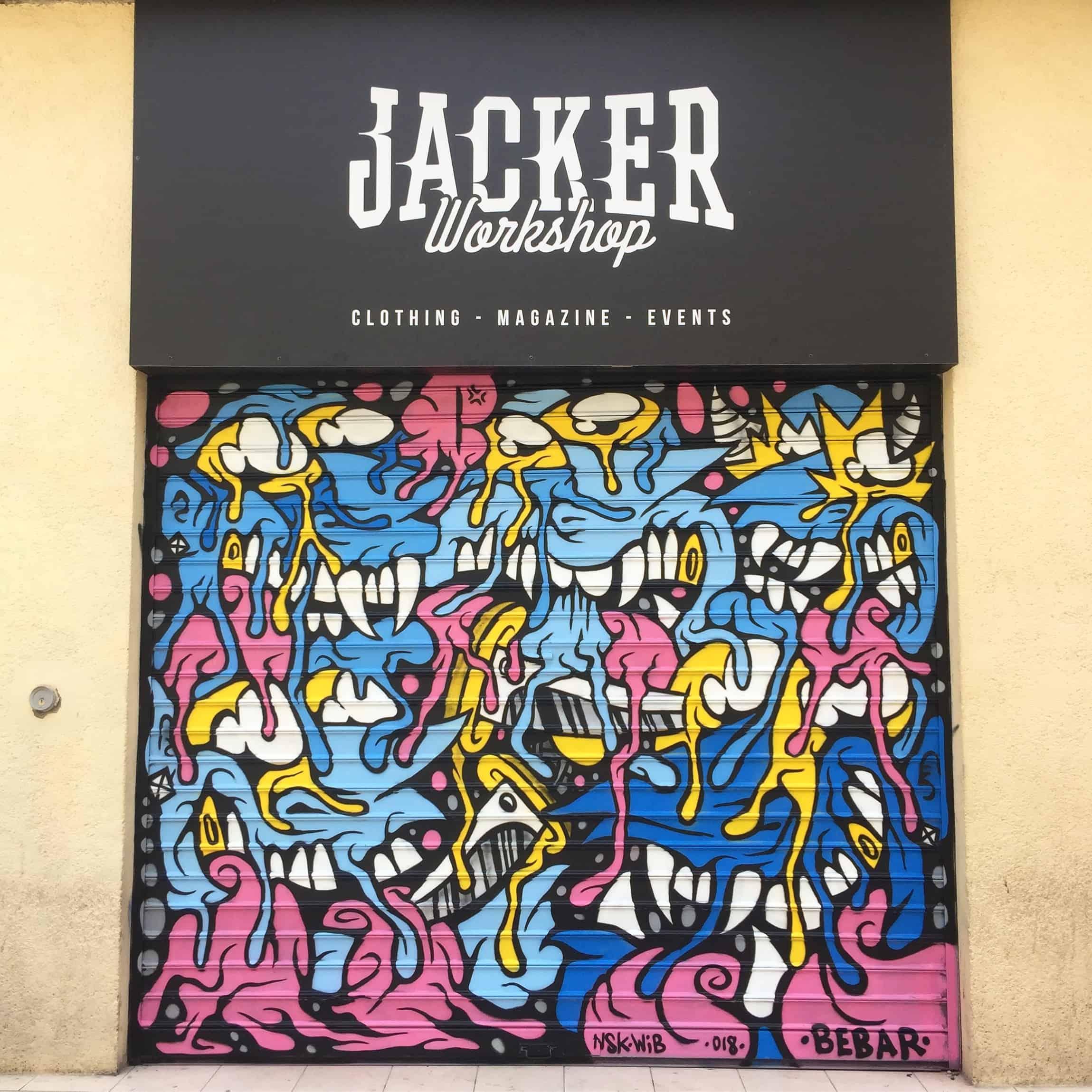 JACKER MTP1 BEBAR