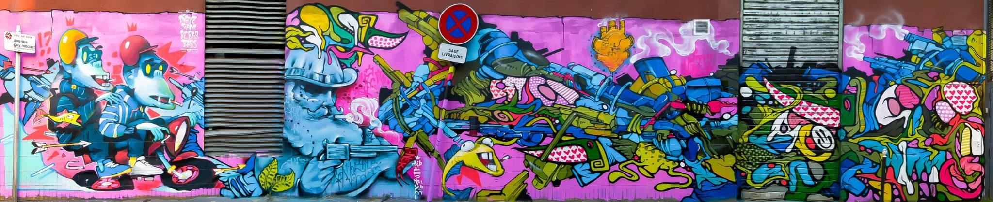 BEBAR GRAFFITI PARIS STREET ART