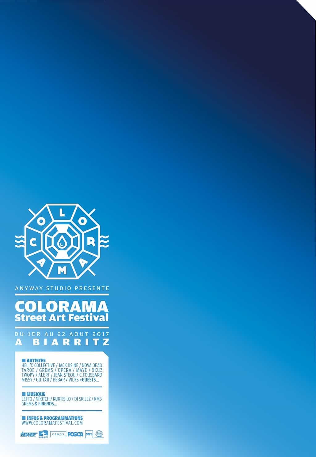affiche A4-coloramastreetartfestival-2017