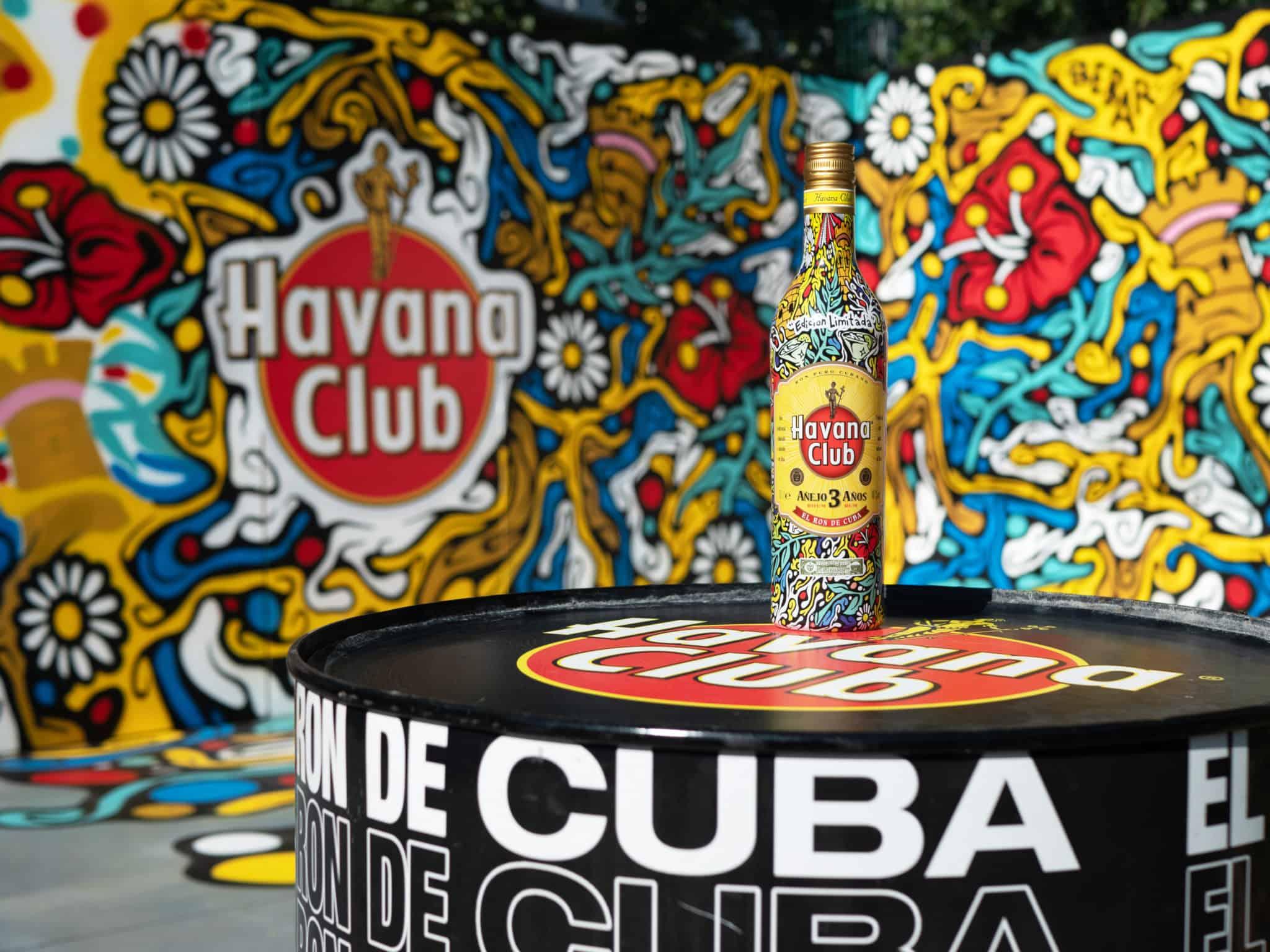 Edition Limitée Havana Club 3 ans vue par Bebar